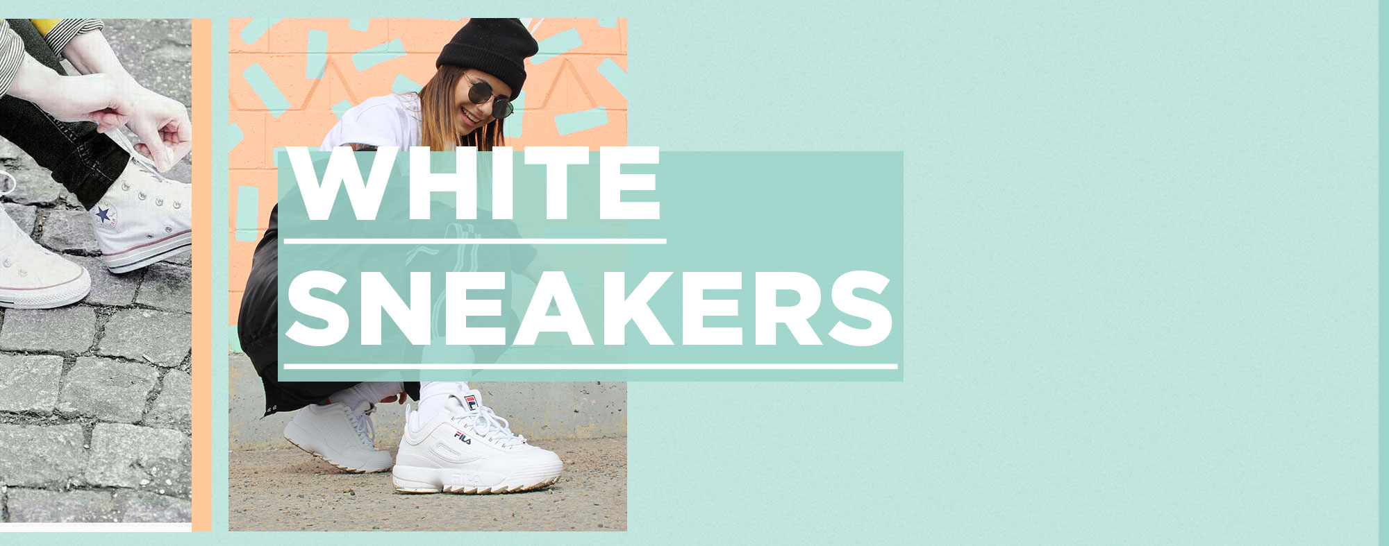 Shop White Sneakers