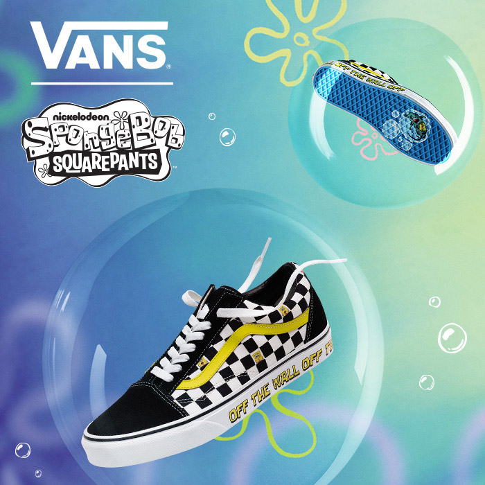 Vans and Nickelodeon's SpongeBob SquarePants team up for a F.U.N. collaboration featuring your favorite characters from Bikini Bottom. Shop the collection today!