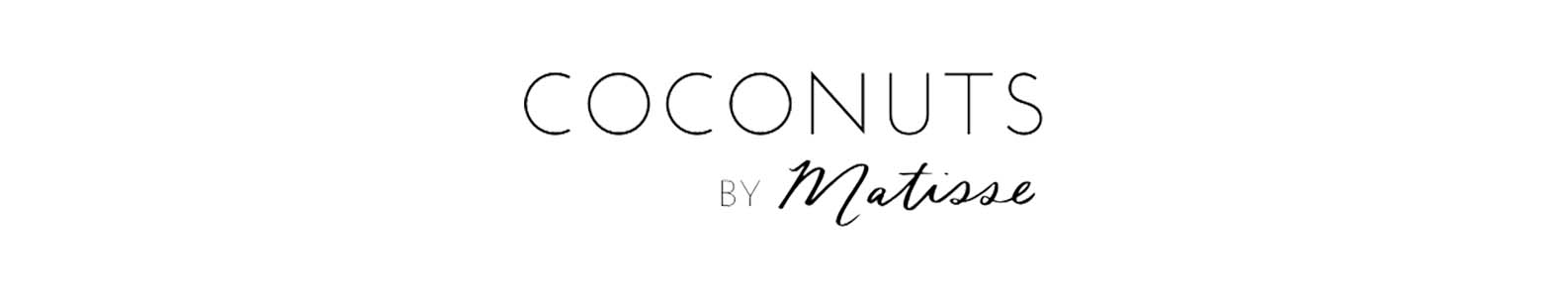Coconuts by Matisse brand header image