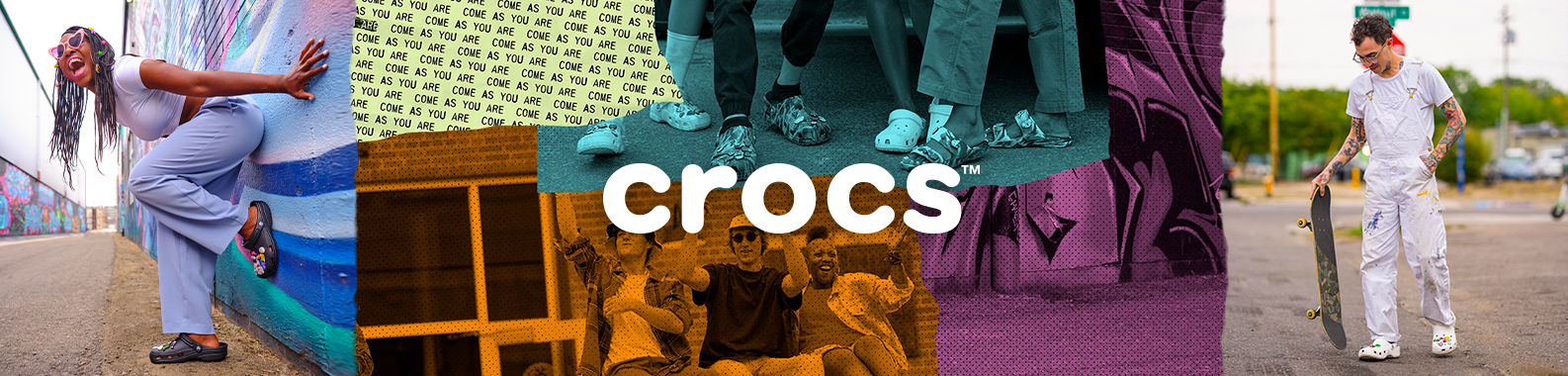 Crocs brand header image