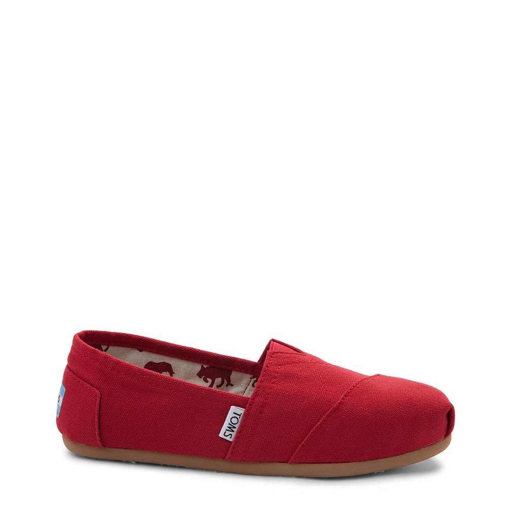 Womens TOMS Classic Slip On Casual Shoe