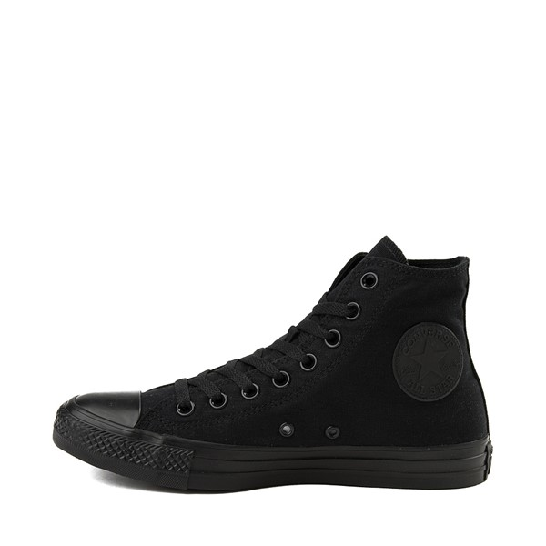 alternate image alternate view Converse Chuck Taylor All Star Hi Sneaker - Black MonochromeALT1