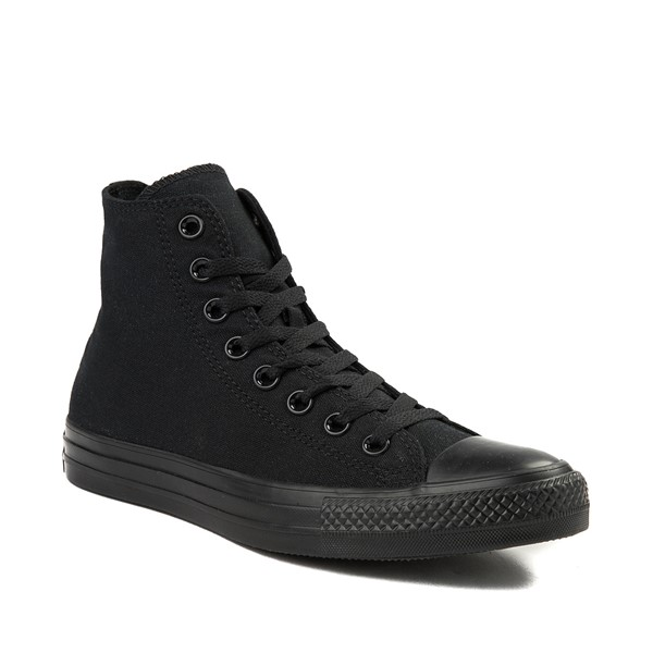 alternate image alternate view Converse Chuck Taylor All Star Hi Sneaker - Black MonochromeALT5
