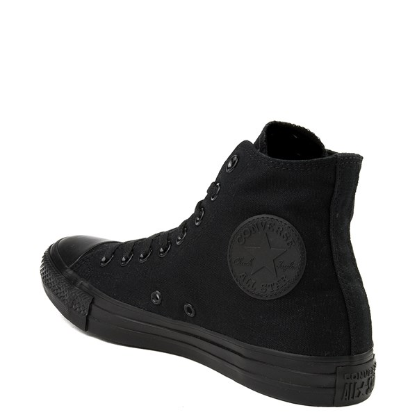 alternate image alternate view Converse Chuck Taylor All Star Hi Sneaker - Black MonochromeALT2