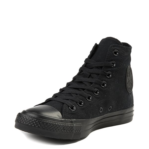alternate image alternate view Converse Chuck Taylor All Star Hi Sneaker - Black MonochromeALT3