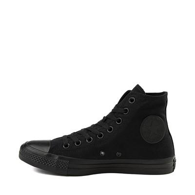 Alternate view of Converse Chuck Taylor All Star Hi Sneaker - Black Monochrome
