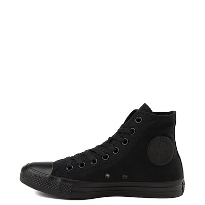 Alternate view of Converse Chuck Taylor All Star Hi Sneaker - Black Monochrome