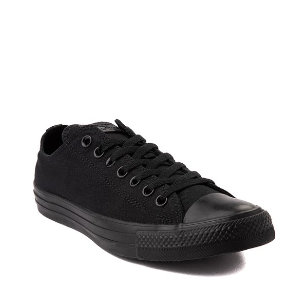 alternate image alternate view Converse Chuck Taylor All Star Lo Sneaker - Black MonochromeALT5