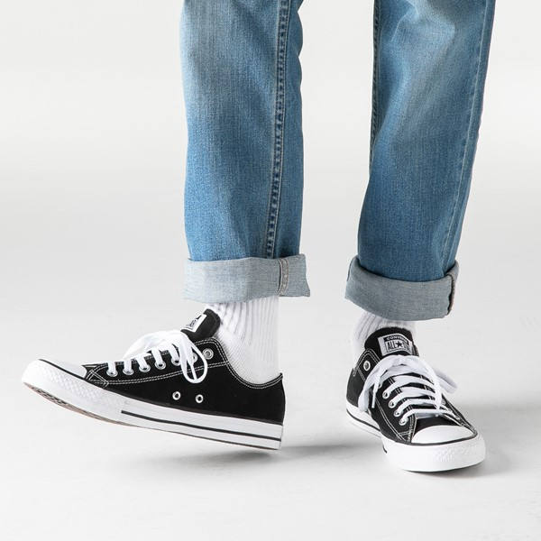 alternate image alternate view Converse Chuck Taylor All Star Lo Sneaker - BlackB-LIFESTYLE1