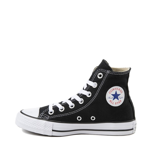 alternate image alternate view Converse Chuck Taylor All Star Hi Sneaker - BlackALT1