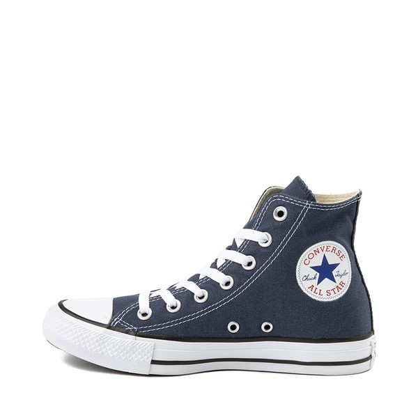 alternate image alternate view Converse Chuck Taylor All Star Hi Sneaker - NavyALT1