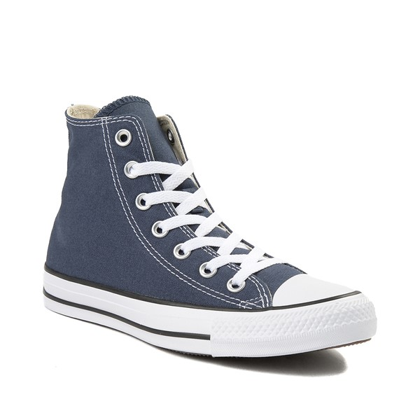 alternate image alternate view Converse Chuck Taylor All Star Hi Sneaker - NavyALT5
