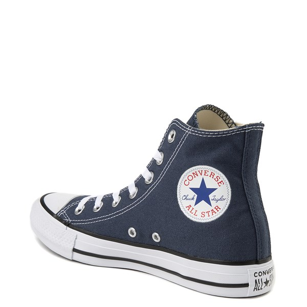 alternate image alternate view Converse Chuck Taylor All Star Hi Sneaker - NavyALT2