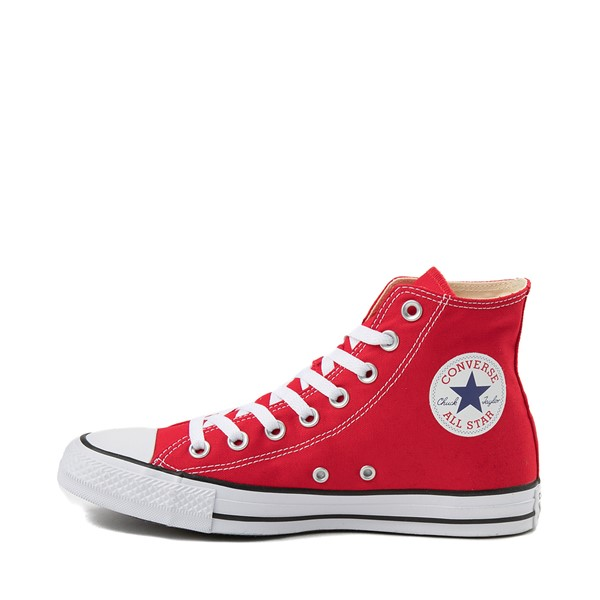 alternate image alternate view Converse Chuck Taylor All Star Hi Sneaker - RedALT1