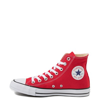 Alternate view of Converse Chuck Taylor All Star Hi Sneaker - Red
