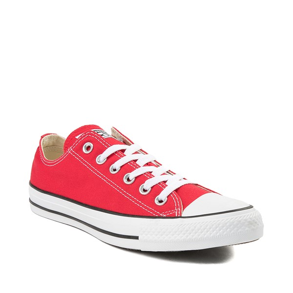 alternate image alternate view Converse Chuck Taylor All Star Lo Sneaker - RedALT5