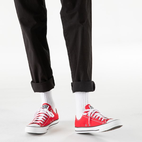 alternate image alternate view Converse Chuck Taylor All Star Lo Sneaker - RedB-LIFESTYLE1