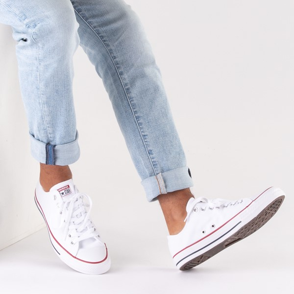 alternate image alternate view Converse Chuck Taylor All Star Lo Sneaker - Optical WhiteB-LIFESTYLE1