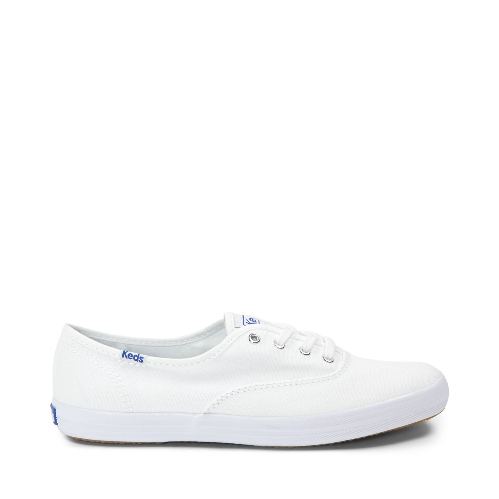 Womens Keds Champion Basic Casual Shoe - White