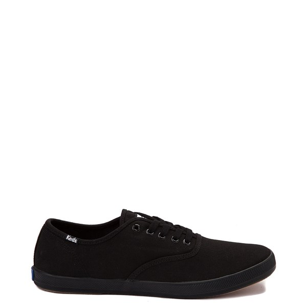 Womens Keds Champion Basic Casual Shoe - Black Monochrome