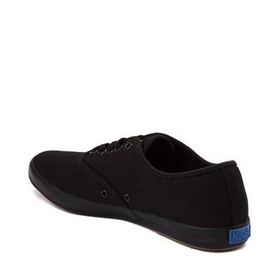 Alternate view of Womens Keds Champion Basic Casual Shoe - Black Monochrome