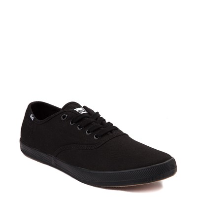 Alternate view of Womens Keds Champion Basic Casual Shoe - Black Monochrome