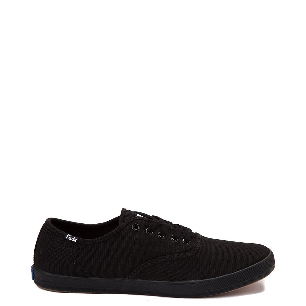 Womens Keds Champion Basic Casual Shoe - Black Monochrome