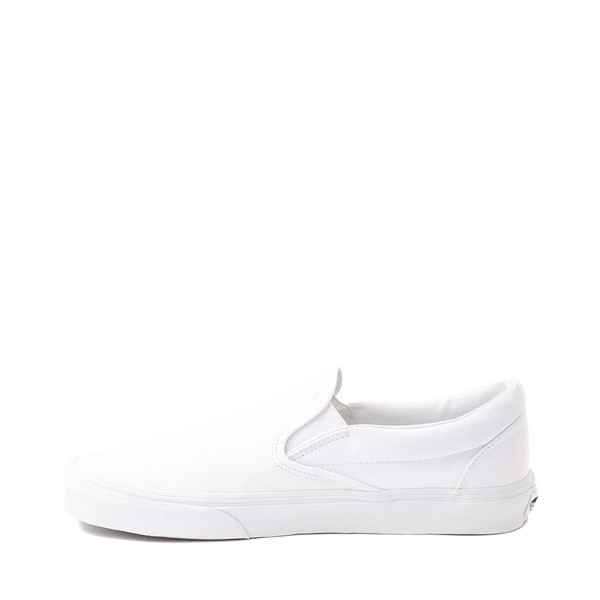 alternate image alternate view Vans Slip On Skate Shoe - WhiteALT1