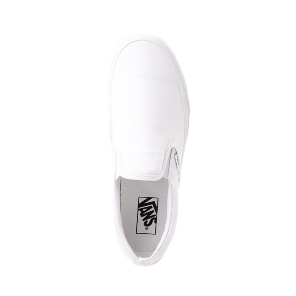 alternate image alternate view Vans Slip On Skate Shoe - WhiteALT2