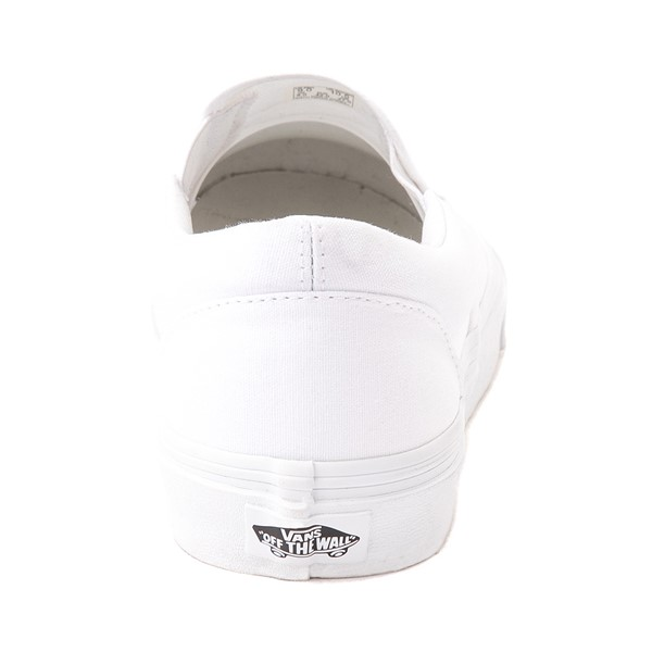alternate image alternate view Vans Slip On Skate Shoe - WhiteALT4