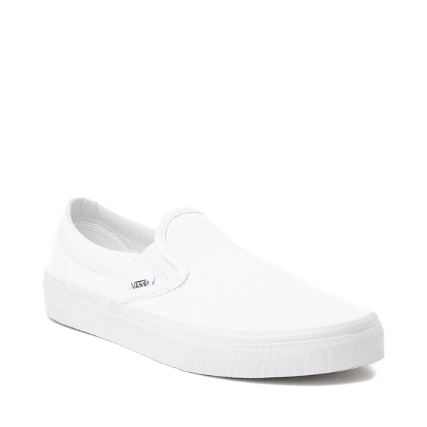 alternate image alternate view Vans Slip On Skate Shoe - WhiteALT5