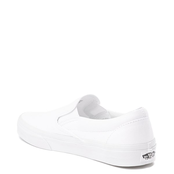 alternate image alternate view Vans Slip On Skate Shoe - WhiteALT3