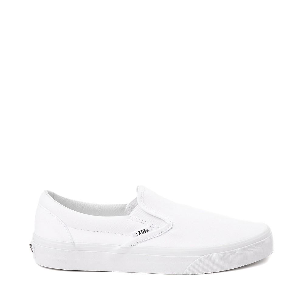 Vans Slip On Skate Shoe - White