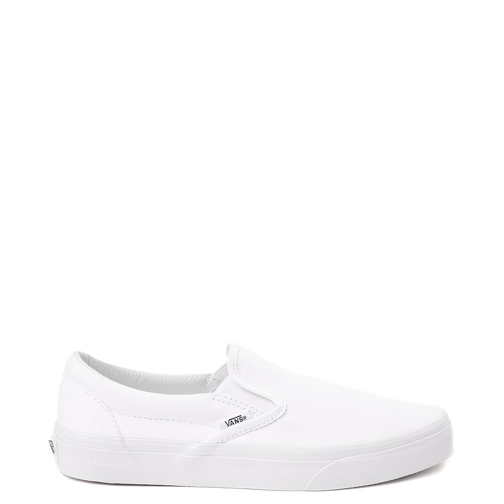 Vans Slip On Skate Shoe - White