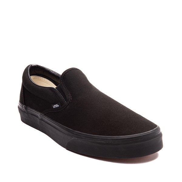 alternate image alternate view Vans Slip On Skate Shoe - BlackALT5