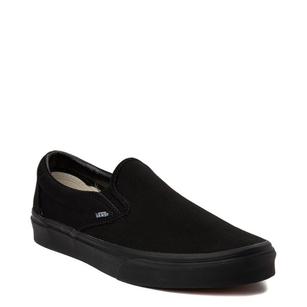 alternate image alternate view Vans Slip On Skate Shoe - BlackALT1
