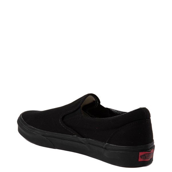 alternate image alternate view Vans Slip On Skate Shoe - BlackALT2