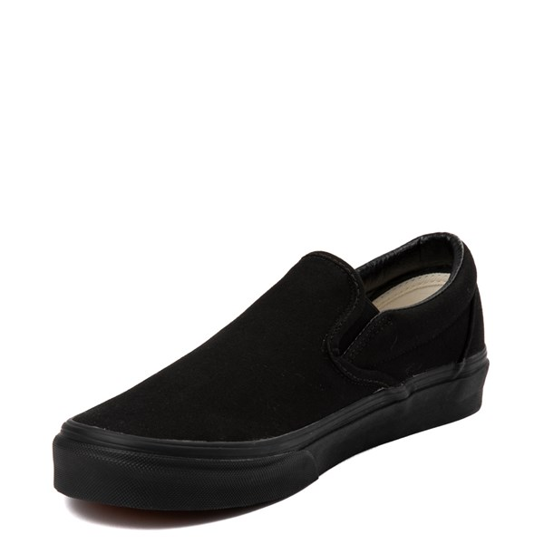 alternate image alternate view Vans Slip On Skate Shoe - BlackALT3
