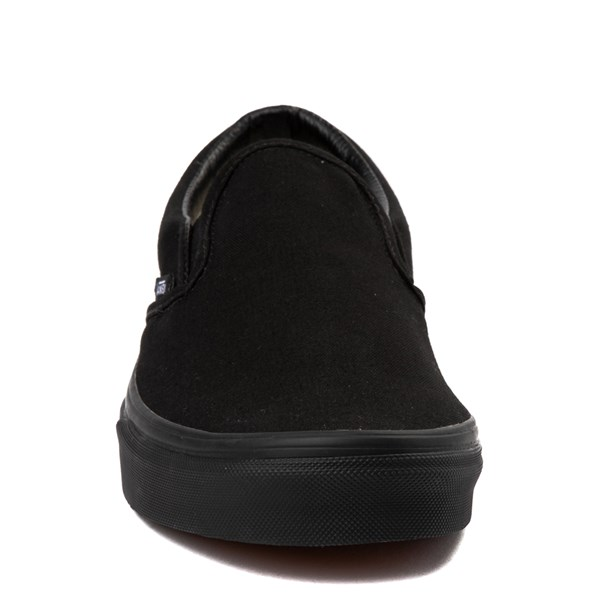 alternate image alternate view Vans Slip On Skate Shoe - BlackALT4