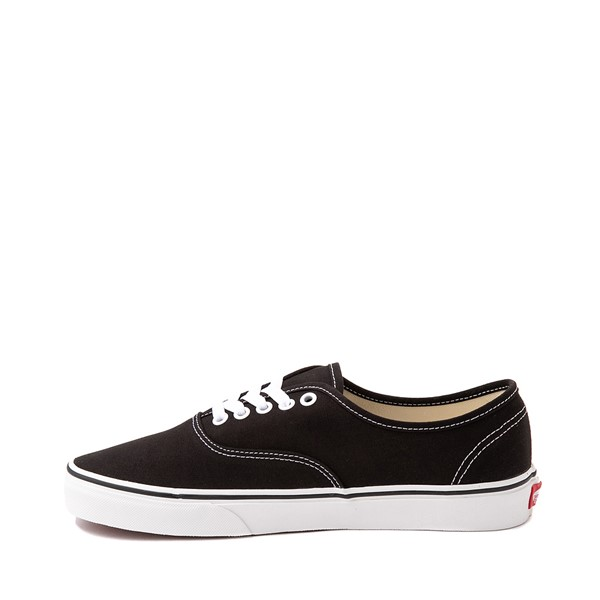 alternate image alternate view Vans Authentic Skate Shoe - Black / WhiteALT1