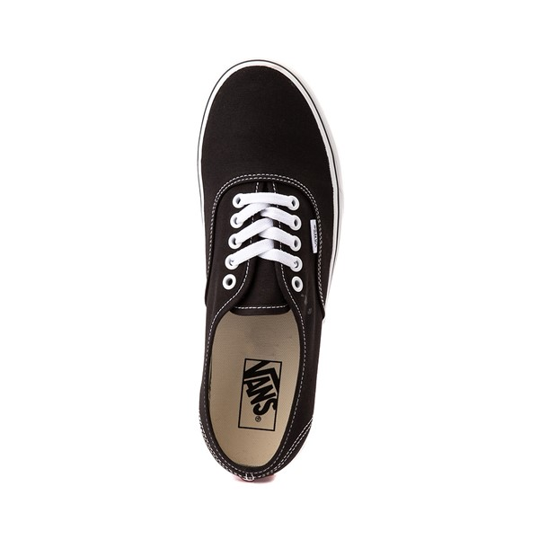 alternate image alternate view Vans Authentic Skate Shoe - Black / WhiteALT2