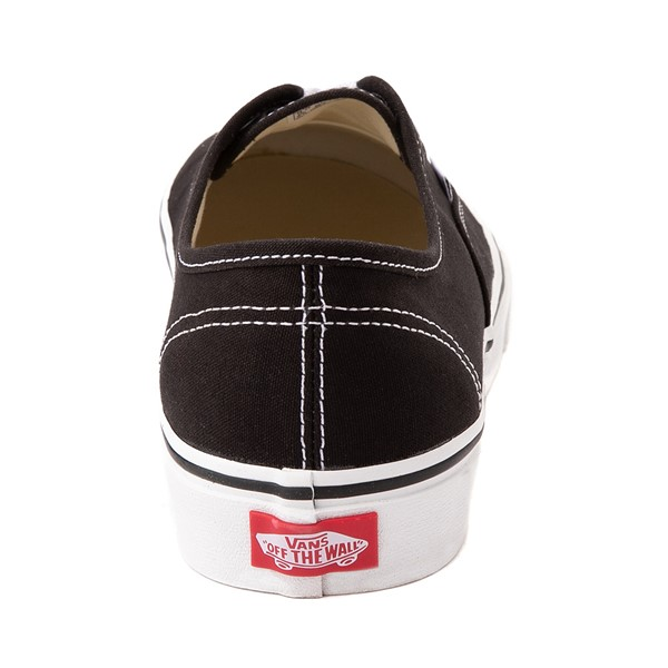 alternate image alternate view Vans Authentic Skate Shoe - Black / WhiteALT4