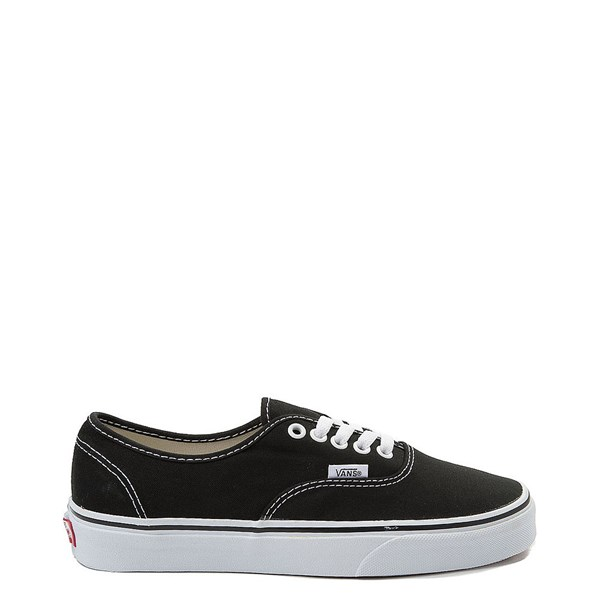Main view of Vans Authentic Skate Shoe - Black / White
