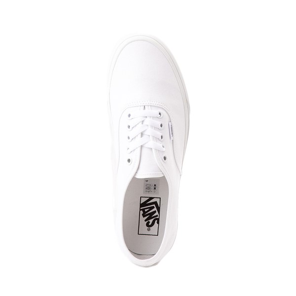 alternate image alternate view Vans Authentic Skate Shoe - WhiteALT2