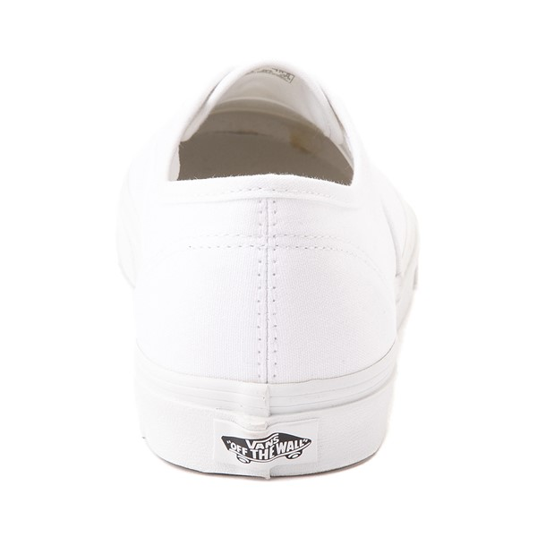 alternate image alternate view Vans Authentic Skate Shoe - WhiteALT4