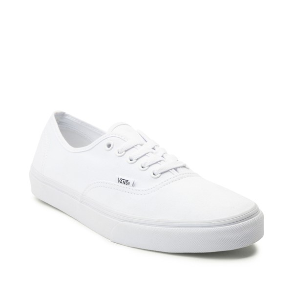 alternate image alternate view Vans Authentic Skate Shoe - WhiteALT5