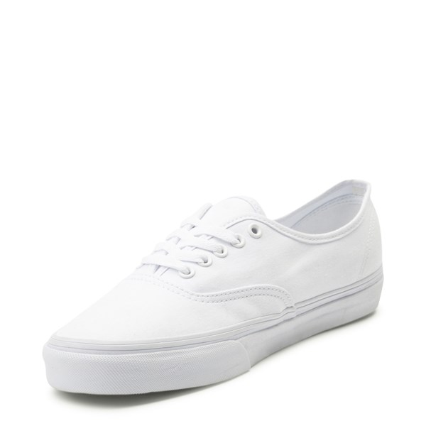 alternate image alternate view Vans Authentic Skate Shoe - WhiteALT3