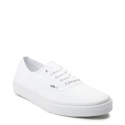 Alternate view of Vans Authentic Skate Shoe - White
