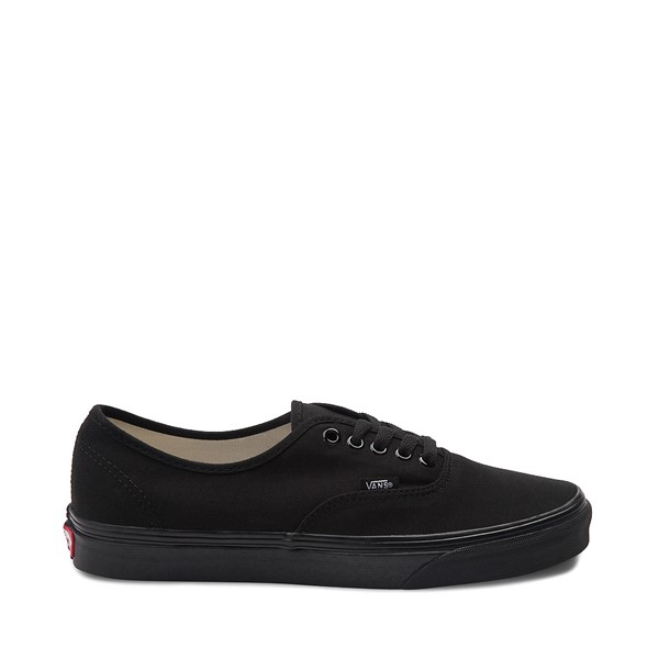 Main view of Vans Authentic Skate Shoe - Black Monochrome