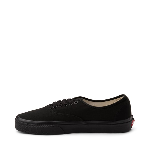 alternate image alternate view Vans Authentic Skate Shoe - Black MonochromeALT1